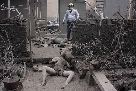 Последствия вулкана мерапи