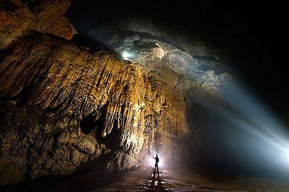 Самая большая пещера хан сон дунг
