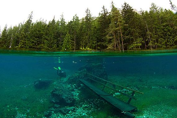Зеленое озеро, Austria