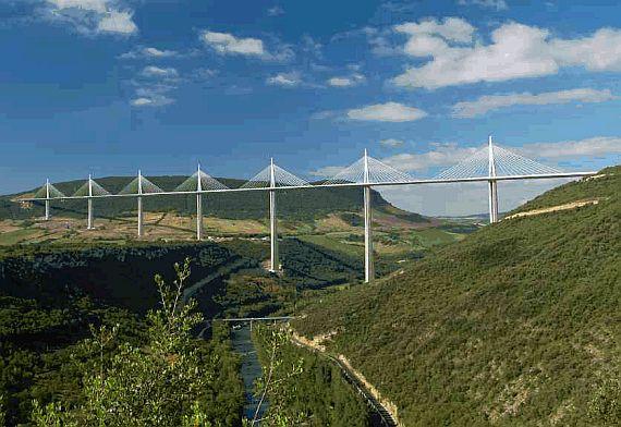 большой мост виадук мийо