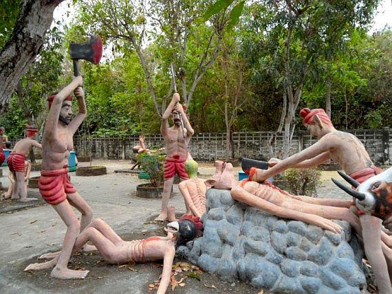 храм рая и ада. Тайланд