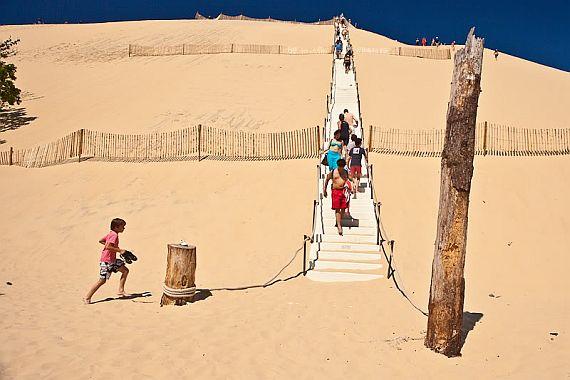 лестница дюна пила