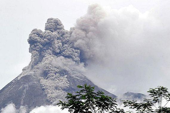 остров ява индонезия извержение
