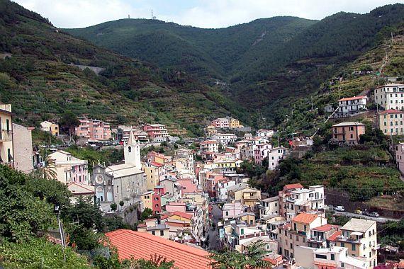 пять земель италия