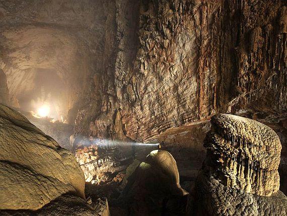 самая большая пещера в мире фото