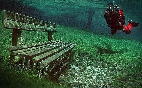зеленое озеро grüner see австрия
