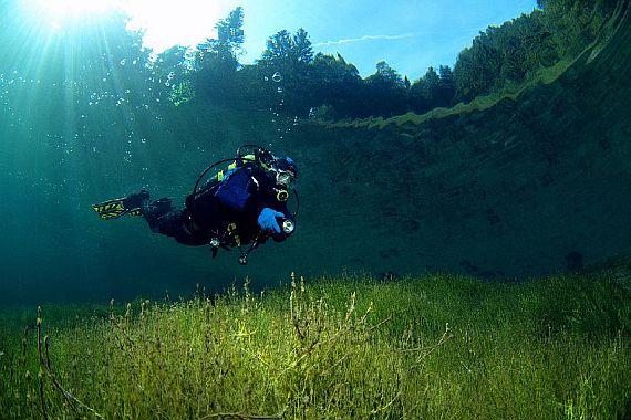 зелёное озеро gruner see