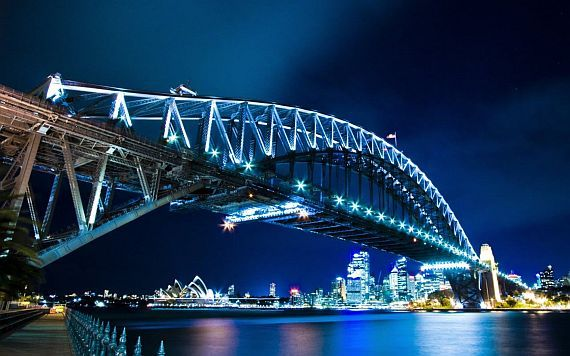 Харбор Бридж, мост в Сиднее