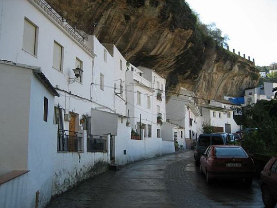 Испания, город в скале