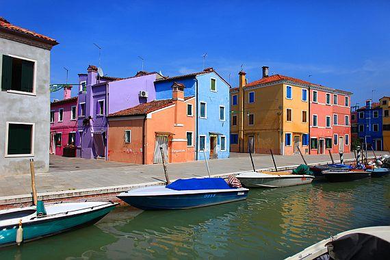 Венеция с разноцветными домами