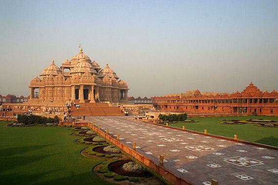акшардхам - храм в индии