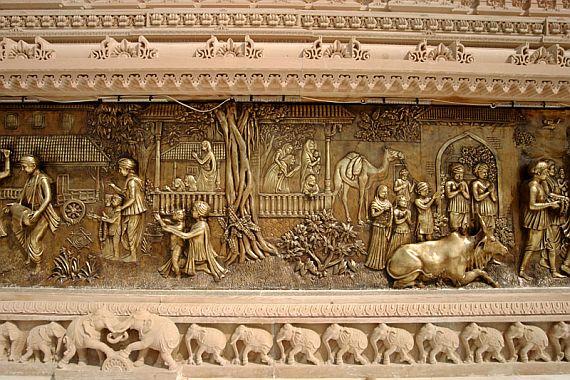 акшардхам в Индии фото