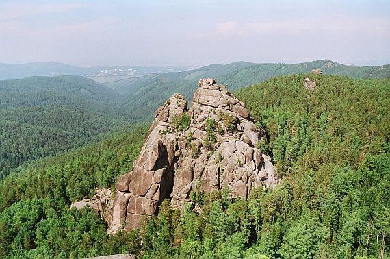 достопримечательности красноярского края столбы