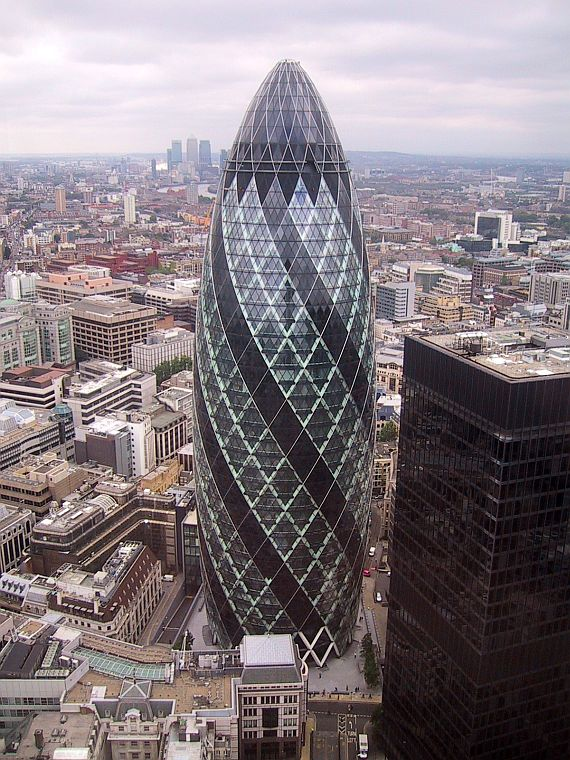 небоскреб огурец в лондоне