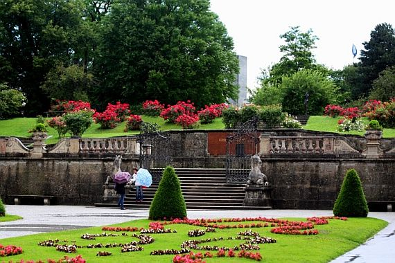 сад мирабель зальцбург
