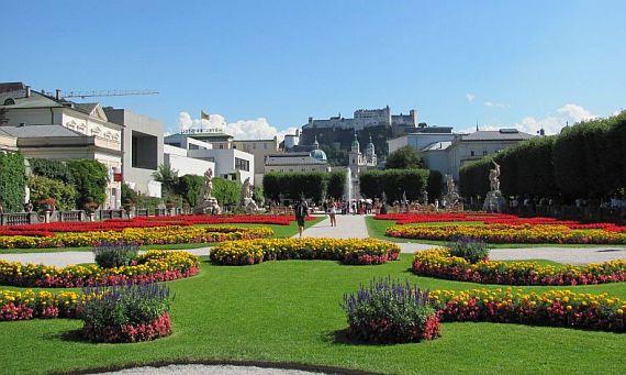сад в зальцбурге