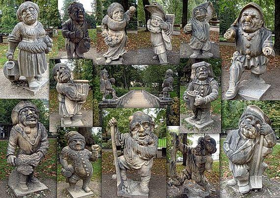 статуи сада Мирабель