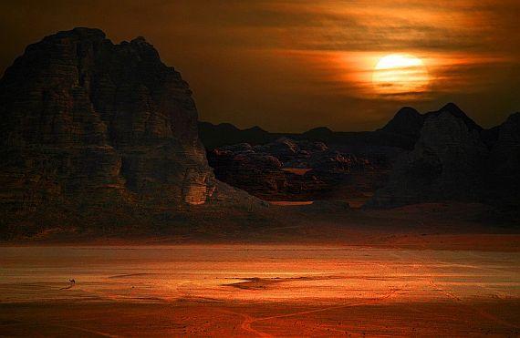 Долина Луны или пустыня Вади Рам
