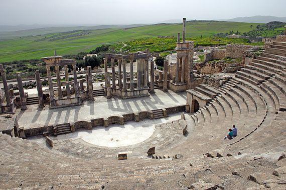 Дугга - античный город в Тунисе
