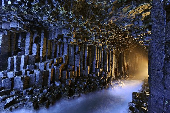Фингалова пещера на острове Стаффа