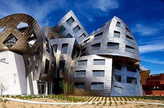 Кливлендская клиника - необычное здание