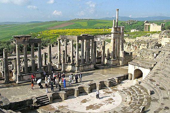 древний античный город