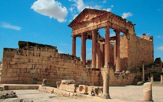 древний город в тунисе
