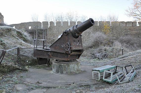 ивангород фото пушки