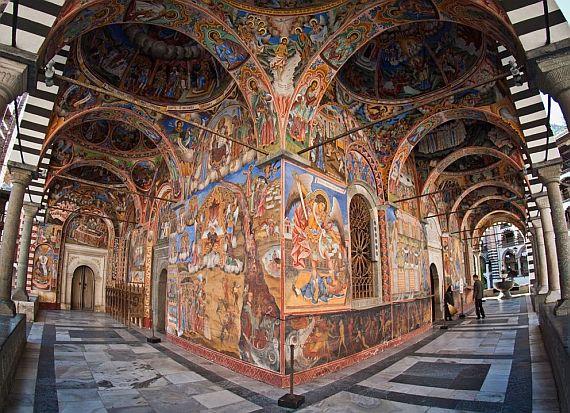 монастырь иоанна рыльского