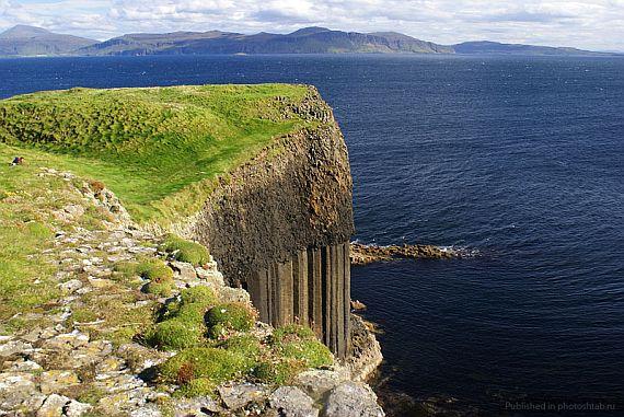 остров стаффа в Шотландии
