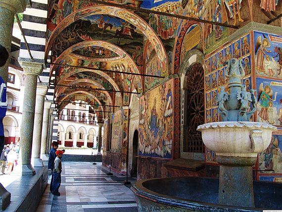 рыльский мужской монастырь