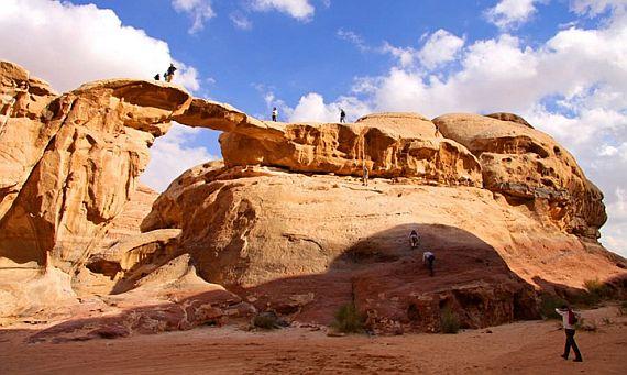 вади рам пустыня иордании