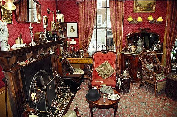Музей в лондоне шерлока холмса