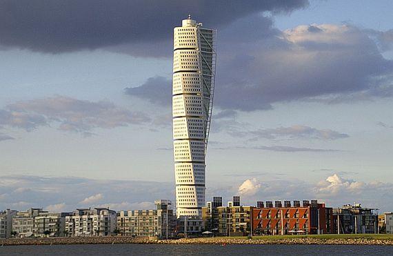 Turning Torso небоскреб