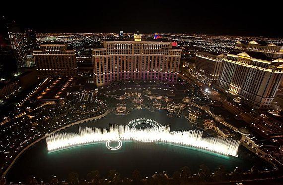 фонтан белладжио в США