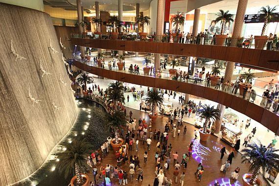 магазины dubai mall