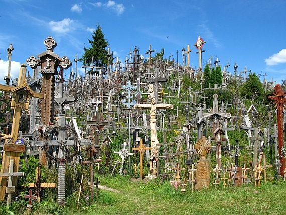Литва, гора крестов