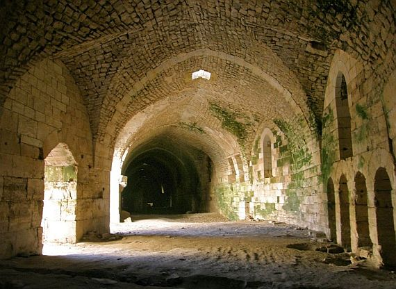 Замок в сирии