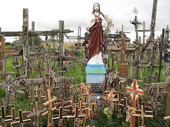 гора крестов, святое место