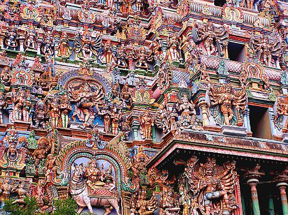храм в индии Минакши
