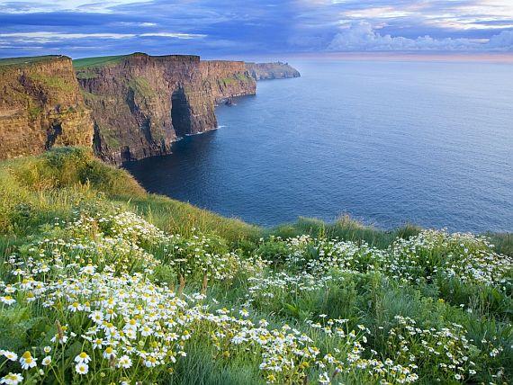 Ирландия скалы Мохер