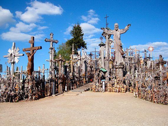 кресты на горе