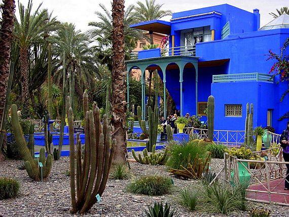 марокко сад мажорель