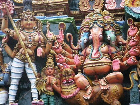 минакши, храм в индии