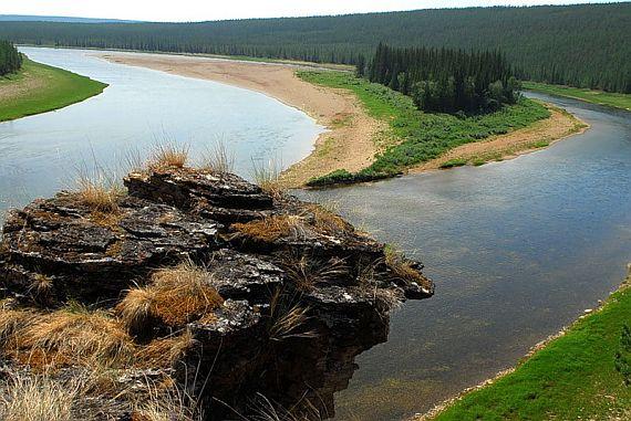 река амга в якутии