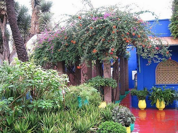 сады марракеша, Марокко