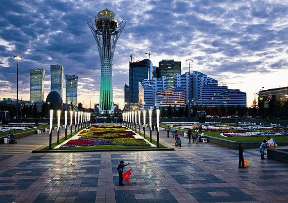 Башня Байтерек - символ Казахстана