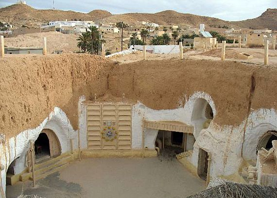 Каменные дома Матмата