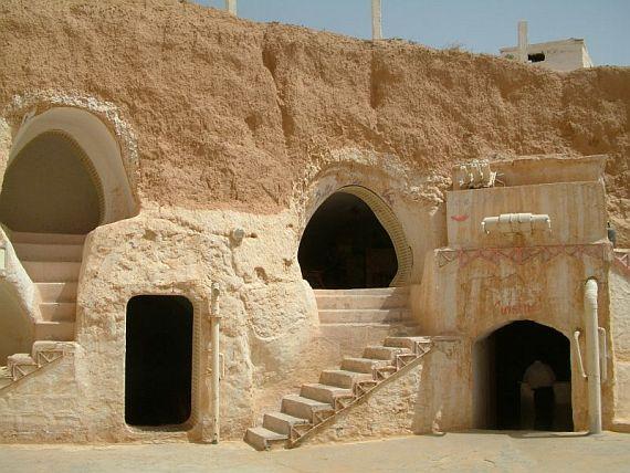 Матмата древние жилища