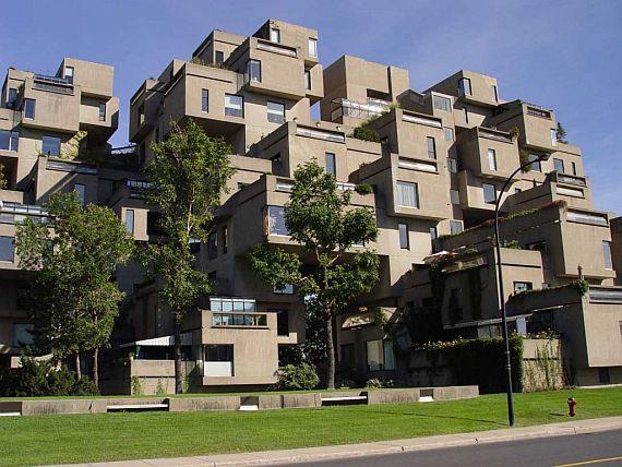Монреальский жилой комплекс Хабитат 67